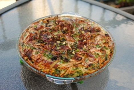 Low-amine frittata (low-amine, gluten-free, soy-free, dairy-free, nut-free, low-fat, low-carb, paleo, vegetarian) photo