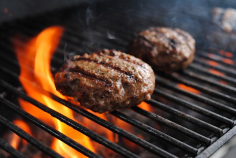 Low-Amine Cajun Burgers on the Grill (low-amine, gluten-free, soy-free, dairy-free, nut-free, paleo) photo