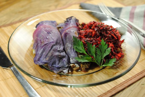 Dill Beef Stuffed Cabbage Rolls (photo)